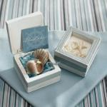 Beach Theme Wooden Trinket Boxes x 12 image