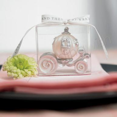 Wedding Cinderella Wedding Carriage Candle - Wedding Wish Image 1