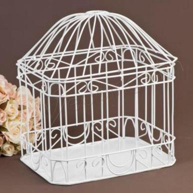 Wedding Dome Lid Card Keeper - Wedding Wish Image 1
