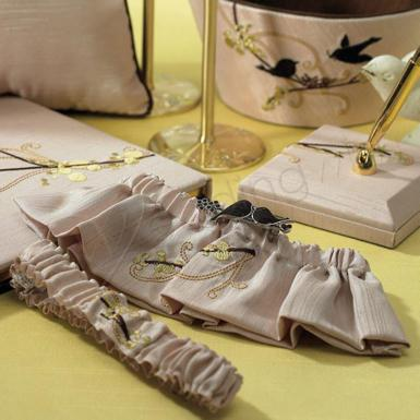 Wedding Love Bird Garter Set - Wedding Wish Image 1