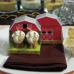 Miniature Cow Candles in Novelty Barn Gift Box image