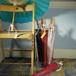 Paper Parasol with Bamboo Boning image