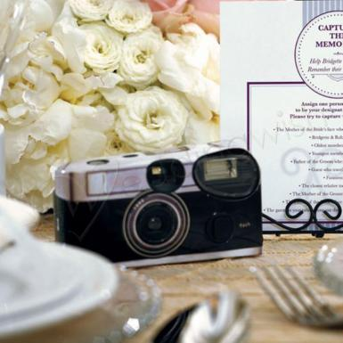 Wedding Single Use Camera - Vintage Design - Wedding Wish Image 1
