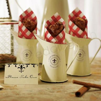 Wedding French Provençal Mini Decorative Pitcher - Wedding Wish Image 1