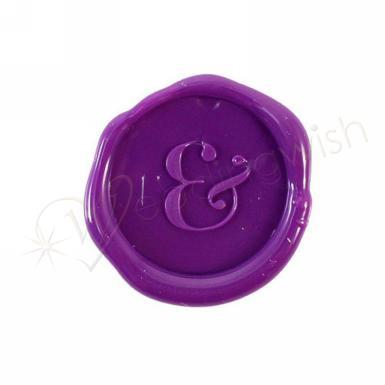 Wedding Ampersand Flexible Wax Seals - Wedding Wish Image 1