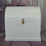 Large Wooden Treasure Chest Stained or White image
