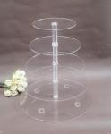 5 tier cupcake stand - hire only image