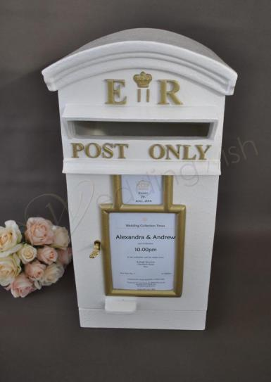 Wedding Royal Mail English Post Box Wishing Well - Hire - Wedding Wish Image 1