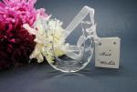 Deluxe Glass Horseshoe Charm with Diamantes image