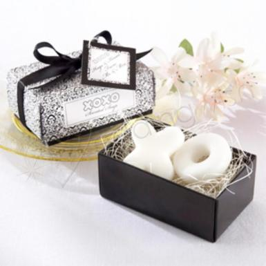 Wedding Hugs and Kisses Soap Gift Boxed Favour - Wedding Wish Image 1