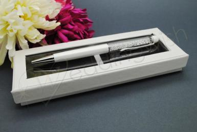 Wedding Crystal Stem Pen in Gift Box - Wedding Wish Image 1
