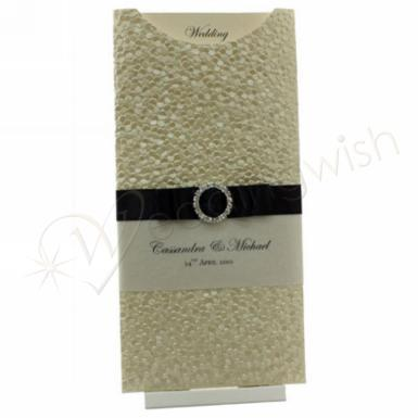 Wedding DL Glamour Pocket Pouches x 10 - Wedding Wish Image 1