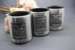 Groomsmen Stubby Coolers with Engravable Plaque image