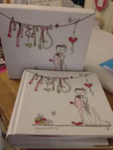 Wedding Mr and Mrs Photo Album Tracey Russell - Wedding Wish Image 1
