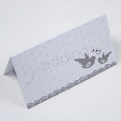Wedding  Love Birds Place Cards x 10 Image 1