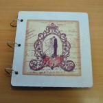 Antique Look Photo Guest Book image