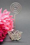 Butterfly Placecard Holder with Diamantes image