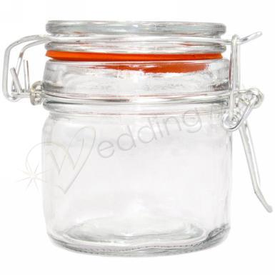 Wedding Mini Jam Jars with Clip - Wedding Wish Image 1