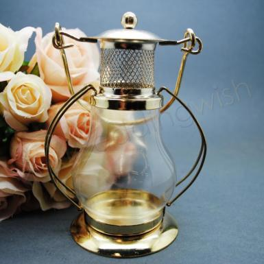 Wedding Metal Lantern Tealight Candle Holder - Wedding Wish Image 1