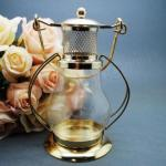 Metal Lantern Tealight Candle Holder image