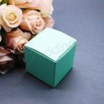 Robins Egg Aqua Blue 5cm favour boxes x 10 image