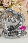 Wedding Double Silver Hearts Range image