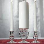 Wedding Candles & Candle Holders image